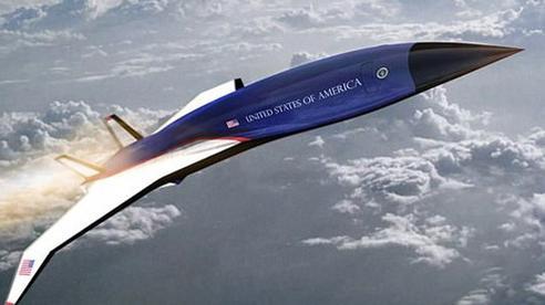 Lầu Năm Góc tiết lộ kế hoạch phát triển Không lực Một siêu thanh