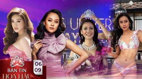 'Đối thủ' của Khánh Vân - Tân Hoa hậu Hoàn vũ Malaysia gây tranh cãi về nhan sắc khi đăng quang