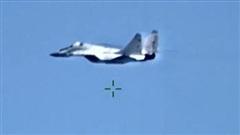 'Mãnh điểu' MiG-29 của quân đội Lybia bị bắn rơi ngay tại thành phố chiến lược Sirte
