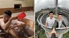 Quang Vinh vừa đi Hà Giang đã mê luôn thứ nước tắm lá thuốc của người Dao đỏ, về rồi mà kêu nhớ da diết