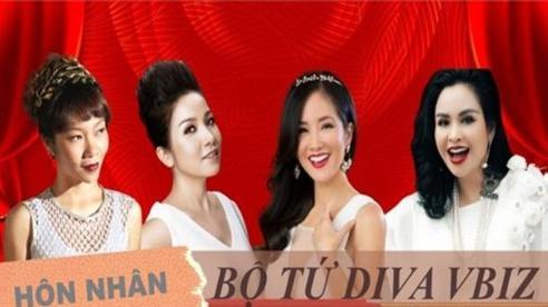Bộ tứ diva Việt: Người 'xấu lạ' cuộc sống an yên, người hồng nhan thì lận đận tình duyên