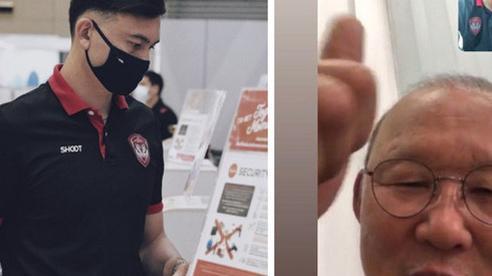 Tình cảm như HLV Park Hang-seo: Gọi điện động viên, ra dấu 'Văn Lâm là số 1' trước ngày Thai League trở lại