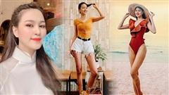Chân dài 1m21, thí sinh Hoa hậu Việt Nam diện đồ basic trông cũng 'ảo' như... photoshop quá đà