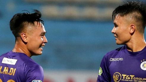 Cầu thủ lùn nhất Hà Nội FC khiến các ngoại binh phát cuồng trong ngày 'huỷ diệt' đối thủ 7 bàn
