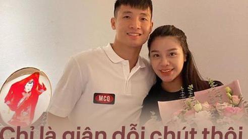 Bùi Tiến Dũng khẳng định không có chuyện chia tay Khánh Linh: 'Chỉ là giận dỗi chút thôi'