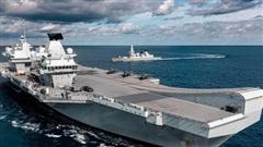 Anh: Hối thúc đưa tàu sân bay tới biển Đông