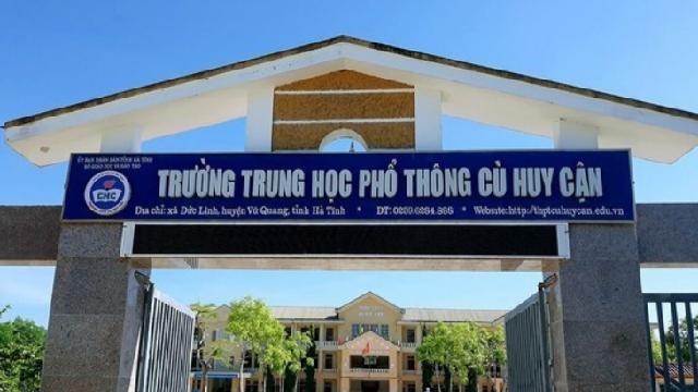 Một thí sinh tăng 22,5 điểm thi tốt nghiệp THPT sau phúc khảo ở Hà Tĩnh