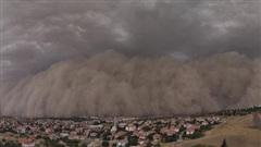 Khoảnh khắc thủ đô của Thổ Nhĩ Kỳ bị 'nuốt chửng' bởi bão cát