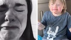 Bày tiệc sinh nhật cho con bị hội chứng Down nhưng chỉ có 1 bạn đến dự, bà mẹ quay clip khóc ròng vì thương con thu hút 7 triệu lượt xem