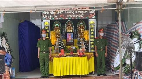Thăng quân hàm Thượng sỹ cho cảnh sát cơ động hy sinh khi làm nhiệm vụ ở Bắc Giang