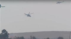 Trực thăng, xe quân sự Nga tiến vào vùng Mỹ kiểm soát