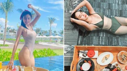 Đừng hỏi Thuỷ Tiên 'ủa sao chị mặc đồ bikini đi ăn sáng' nữa, đó là cả một trào lưu check-in nổi rần rần đó!