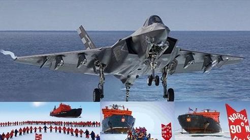 Mỹ điều 150 chiếc F-22/F-35 tới Alaska: Tất cả vì Bắc Cực?