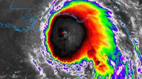 Mắt bão khổng lồ của Sally: Cơn bão dự báo gây ra trận lũ lụt lịch sử tại Mỹ; 10 triệu người được cảnh báo
