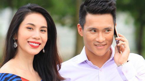 Netizen nước ngoài bình luận 'ra oai' với Công Vinh, Thủy Tiên liền vào 'chặt chém' bênh chồng