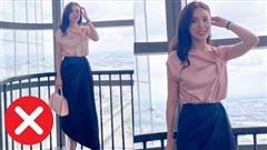 Ninh Dương Lan Ngọc mắc lỗi chọn sai giày giống nhiều chị em công sở, style vì thế mà kém đẹp đi vài phần