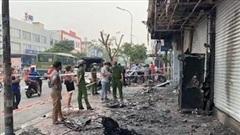 Xác định nghi can gây cháy chi nhánh ngân hàng cùng nhà dân tại Gò Vấp