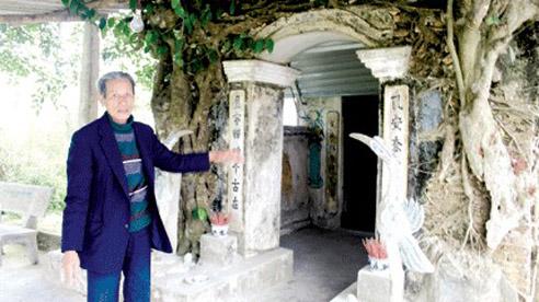 Ngôi đền cổ và truyền thuyết ông Lành, ông Cụt