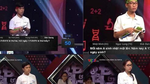 Loạt câu hỏi hack não của 'Đường lên đỉnh Olympia': Có câu khiến cả 4 thí sinh bó tay nhưng đáp án lại dễ bất ngờ