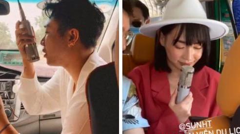 Nhìn Hoàng Ku - Sun HT 'quẩy' tưng bừng trên xe ô tô mà tưởng đâu cảnh... đi du lịch với lớp cấp 3: Vui chơi bất chấp hình tượng luôn!