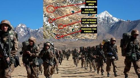 Báo Ấn: 'Nghi binh' ở Hồ Pangong Tso, Trung Quốc sắp nuốt trọn vị trí chiến lược ở Ladakh?