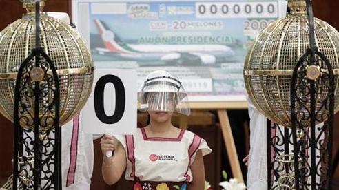 Mexico tạo ra 100 triệu phú nhờ 'xổ số chuyên cơ tổng thống'