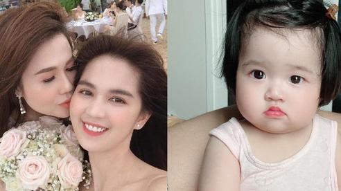 Ngọc Trinh khoe cháu gái ruột mà ai cũng xuýt xoa: Mắt to tròn 'hưởng gen' của dì ruột, mỹ nhân tương lai đây rồi!