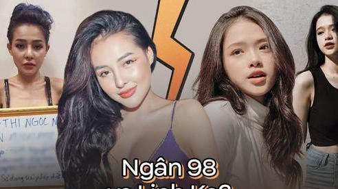 2 nhân vật thị phi lấn sân showbiz Ngân 98 - Linh Ka rẽ hướng đối lập: Người nỗ lực lột xác, kẻ dần trượt dài theo chiêu trò