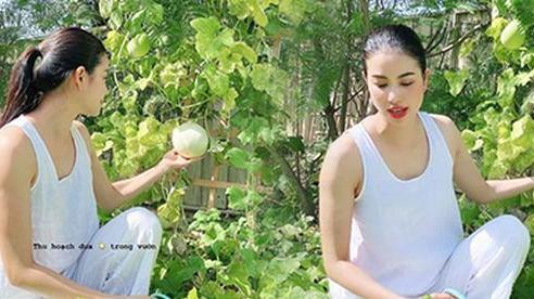 Phạm Hương lộ body tăng cân thấy rõ: Người ta càng gầy càng đẹp, 'mẹ bỉm' có da có thịt lại càng xinh hơn mới hay