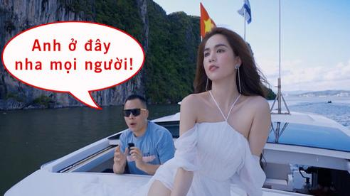 Vũ Khắc Tiệp ra vlog nhưng Ngọc Trinh chiếm trọn spotlight: từ trực thăng đến du thuyền, đi đâu cũng nổi bật và quyến rũ