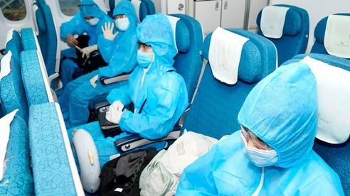 Vietnam Airlines thực hiện chuyến bay thương mại quốc tế thường lệ đầu tiên sau dịch Covid-19