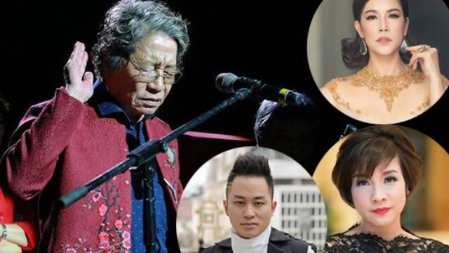 Sao Việt tiếc thương sự ra đi của nhạc sĩ Phó Đức Phương