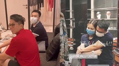 Cùng cặp đôi Hương Giang đi mua sắm nhưng Hòa Minzy và bạn trai thiếu gia lại chiếm hết 'spotlight' vì hành động tình tứ