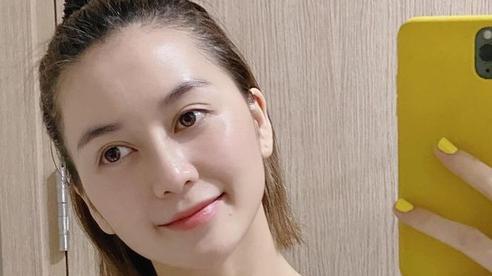 Rửa mặt theo cách của phụ nữ Nhật, Thiều Bảo Trang khoe thành quả da căng mịn trắng sáng