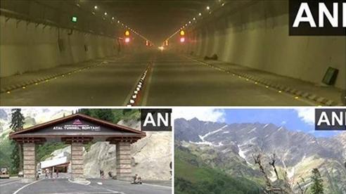 Ấn Độ sắp khánh thành đường hầm thẳng đến biên giới