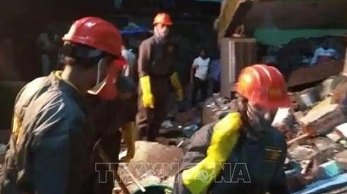 Số người chết trong vụ sập nhà tại Ấn Độ tăng lên 20