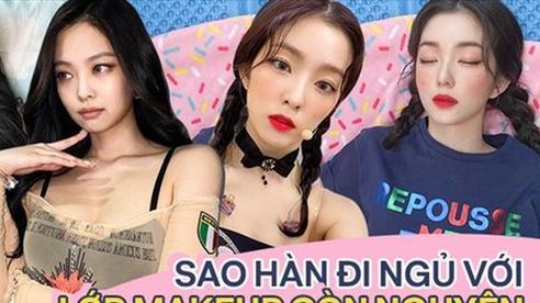 Idol Hàn chợp mắt với nguyên lớp makeup: Xem vừa thương vừa nhận ra toàn cực phẩm nhan sắc, đến ngủ cũng đẹp