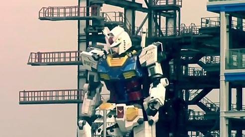 Ra mắt robot khổng lồ mô phỏng nhân vật hoạt hình Nhật Bản
