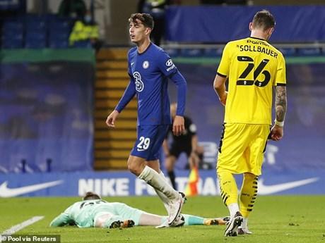 Lampard: Đây chỉ mới là đêm đầu tiên trong nhiều đêm tuyệt vời với Kai