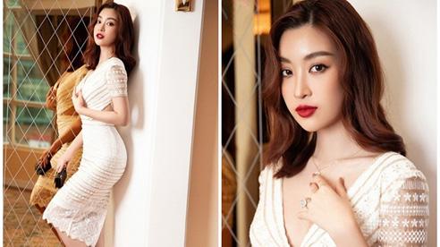 Hoa hậu Đỗ Mỹ Linh khoe vẻ đẹp nền nã, gợi ý loạt cách phối đồ chuẩn xinh