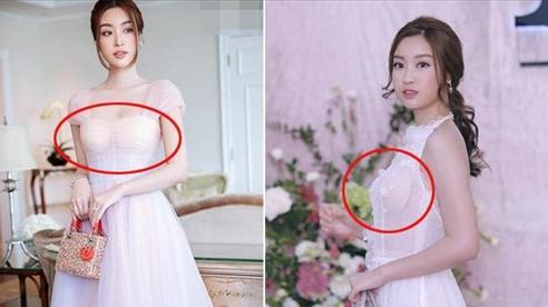 Hoa hậu Đỗ Mỹ Linh mắc lỗi trang phục kém duyên