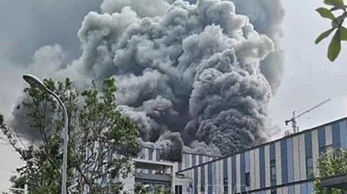 Cháy lớn tại cơ sở nghiên cứu của Huawei, Trung Quốc