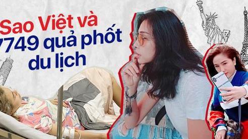 Sao Việt và 7749 quả phốt khi đi du lịch: Thái Trinh nhập viện vì ngộ độc, Bảo Thy bị cướp vali giữa trời Âu