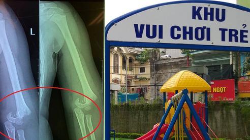 Hà Nội: Yêu cầu ra soát, kiểm tra an toàn tại các cơ sở mầm non sau vụ bé trai 5 tuổi bị ngã gãy tay tại trường