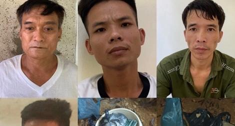 Hành trình vây bắt ổ nhóm mua bán ma túy chôn heroin dưới gốc tiêu