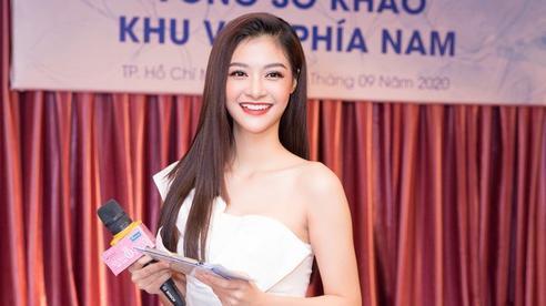 Á hậu Kiều Loan bất ngờ làm điều chưa nàng Hậu nào từng thử tại sơ khảo Hoa hậu Việt Nam 2020