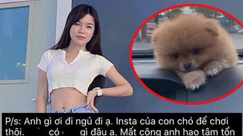 Nửa đêm bạn gái Đặng Văn Lâm bức xúc vì hacker: 'Instagram của chó cưng để chơi thôi' mà cũng bị hack