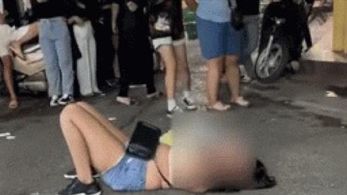 Vụ clip người phụ nữ khóc lóc, lột đồ 'ăn vạ' đòi trả lại hơn 100 nghìn: Cơ quan công an nói gì?