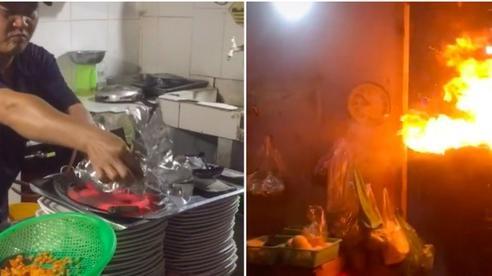 Dân mạng sửng sốt trước món ăn mang tên 'phượng hoàng bay' xuất hiện trong quán nọ, ai xem clip cũng bị đánh lừa bởi chi tiết này