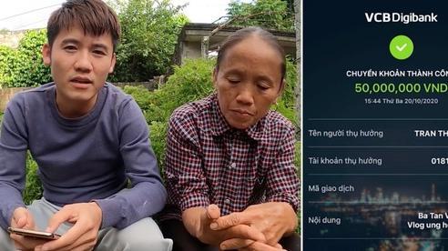 Bà Tân Vlog gửi thẳng 50 triệu đồng cho Thuỷ Tiên để ủng hộ cứu trợ đồng bào miền Trung